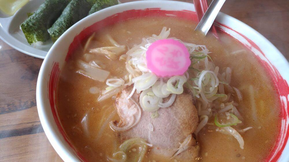 美味しい【北海道ラーメン】ラーメンさんぱち平和通り店