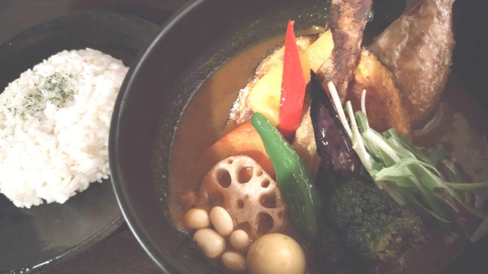 【北海道スープカレー】SAMURAI.さくら店すすきの近くの人気店
