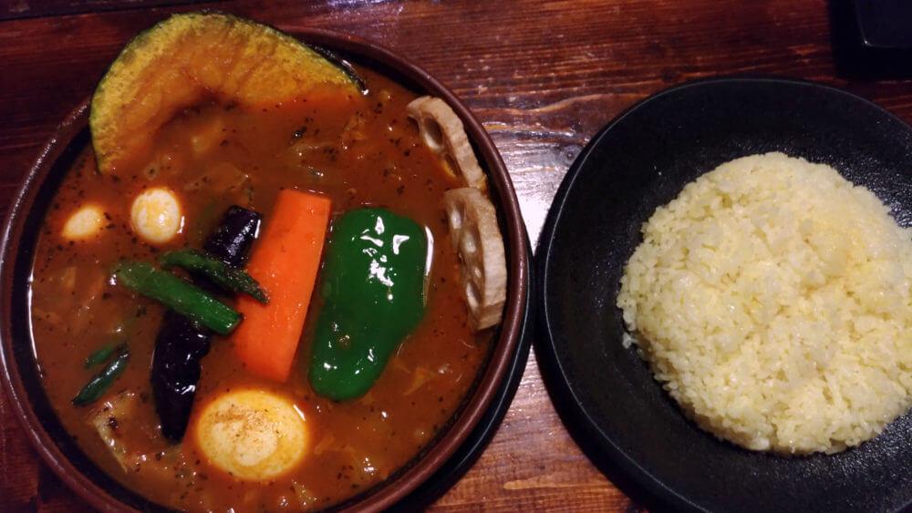 満腹美味しいアジアンバーラマイ札幌中央店【北海道スープカレー】